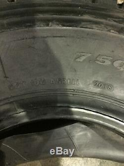 1 New LT 7.50 R 16 LRG 14 Ply Infinity LLA08 All Position Tire with Tube