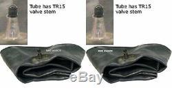 11.2x28, (2 TIRES + 2 TUBES) ROAD CREW OZKA KNK50 R1 11.2-28, 8 PLY 11228