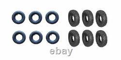 12 Pk. 6 Tires & 6 Tubes 410x350x6 2 Ply Cheng Shin(343/354)