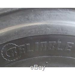 12-Ply 12 x 16.5 Skid Steer Loader/Backhoe Tire with Tube