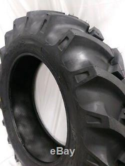 13.6-38 (2-TIRES) 13.6x38 10 PLY Tractor Tires Tube type Road Crew OZKA KNK50