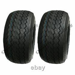 18x8.50-8 4ply tyres & tubes, golf cart, buggy, ATV Quad- Set of 2 Wanda P509