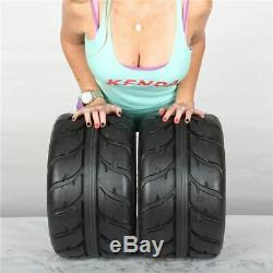 18x9.5-8 Kenda Speed Racer K547 4 Ply Rear ATV UTV Tires (Set of 2) 18 18x9.5x8