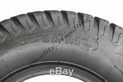 18x9.50-8 tyres & tubes 4ply turf, grass, lawnmower, buggy, lawn 18 950 8 set of 2