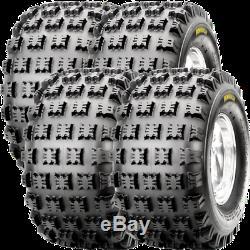 19x8-8 CST AMBUSH FRONT & REAR ATV TIRE SET FOR HONDA TRX 90 QUAD C9309 4 PLY