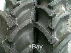2 15.5x38 8ply R 1 Bar Lug Tube Type Farm Ag Tractor Tires fit Oliver 880