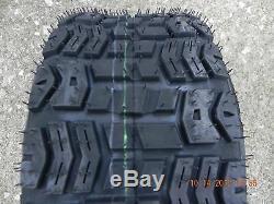 2 16X6.50-8 4 Ply Kenda Terra Trac K502 Tires & Tubes 16X6.5-8 Go Cart Mower