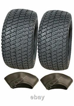 2 16x6.50-8 4ply tyres & tube lawnmower, grass, turf buggy tires, 16 650 8 pair