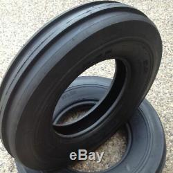 2- 6.00-16,600X16,600-16,6.00X16 8 PLY Rib DISC, WAGON Farm Tractor Tires withTubes