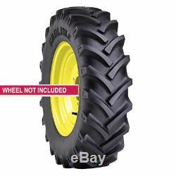 2 New Tires 11.2 24 Carlisle R-1 Tractor CSL 24 6 Ply Tube Type 11.2x24 Farm ATD