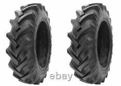 2 New Tires & 2 Tube 12.4 36 GTK AS100 Bias Tractor Rear R1 8ply 12.4x36 DOB FS