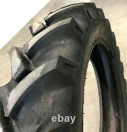 2 New Tires & 2 Tube 13.6 24 GTK AS100 Bias Tractor Rear R1 8ply 13.6x24 DOB FS