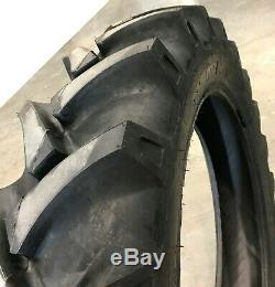 2 New Tires & 2 Tube 13.6 36 GTK AS100 Bias Tractor Rear R1 8ply 13.6x36 DOB FS