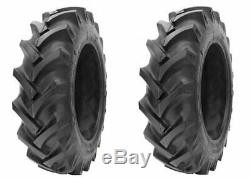 2 New Tires & 2 Tube 14.9 28 GTK AS100 Bias Tractor Rear R1 8ply 14.9x28 DOB FS