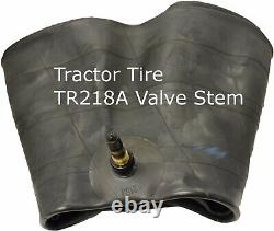 2 New Tires & 2 Tubes 13.6 28 K9 R1 8 ply Tubeless 13.6x28 Tractor Rear DOB FS