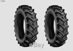 2 New Tires & 2 Tubes 14.9 30 Starmaxx R1 Tractor Rear 10 ply TT 14.9x30 Dob