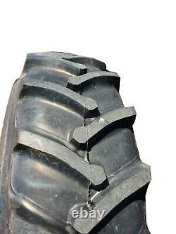 2 New Tires & 2 Tubes 20.8 38 Samson Agri Trac R1 8ply TT Tractor Rear ATD2 FS