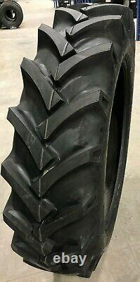 2 New Tractor Tires & 2 Tubes 13.6 28 GTK R1 8 ply TubeType 13.6-28 13.6x28 FSC