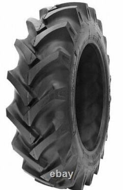 2 New Tractor Tires & 2 Tubes 16.9 28 GTK R1 10 ply TubeType 16.9-28 16.9x28 FSC