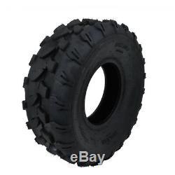 2 Pack 19 x 7.00 8 19x7-8 180/80-8 ATV Tire Tyre 4PLY Quad Dune Buggy Go kart