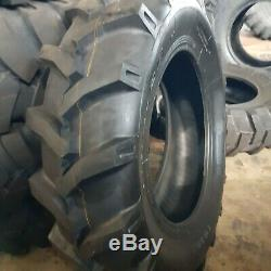 (2-TIRES) 11.2x24,11.2-24 12 PLY Tractor Tires With/Tubes 11224 FREE SHIPPING