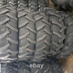 (2-TIRES + TUBES) 13.6x28,13.6-28 R1 10 PLY Tractor Tires 13628 FREE SHIPPING