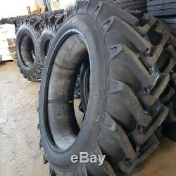 (2-Tires) 15.5-38 12 PLY R1 Rear Farm Tractor TIRES+TUBES 15.5x38