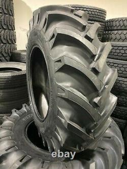 (2-Tires) 16.9-28 KNK-50 14 PLY Rear TRACTOR TIRES 16.9x28 Backhoe (No Tubes)