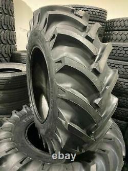 (2-Tires + Tubes) 15.5-38 10 PLY KNK50 Farm Tractor TIRES+TUBES 15.5x38