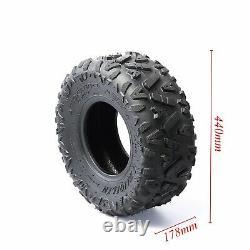 2 pcs 19x700-8 19x7-8 Off Road Tyres 4 PLY F ATV Go Kart Buggy Quad 50CC 150cc