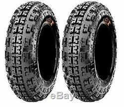 2 x 21x7-10 MAXXIS RAZR 2 6 Ply Front Quad Bike ATV UTV Tyre
