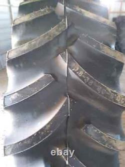 20.8-38 Tire New Overstock R-1 Tube Type 8ply 20838 20.8 38