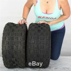 22x11-8 Kenda Dominator K300 4 Ply Rear ATV Tires (Set of 2) 22-11-8 22x11x8