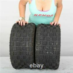 22x11-9 Kenda Dominator K300 4 Ply Rear ATV Tire (Set of 2) 22-11-9 22x11x9