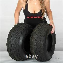 22x8-10 Kenda Dominator K300 4 Ply Front ATV Tire (Set of 2) 22-8-10 22x8x10