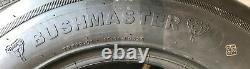 24X8.00-14 BUSHMASTER RIB TR508 20 Ply Tube Type Shredder Batwing Mower SIL