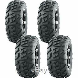 25x8-12 25x10-12 Ocelot P392 6-ply Atv / Utility Tires (4 Pack)
