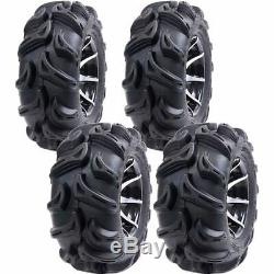 25x8-12 25x10-12 Q750 6-ply Atv / Utv Tires (4 Pack)