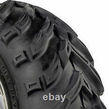 25x8-12 Kings Baja Trax 8 Ply Quad ATV UTV Tyre RRP$219ea