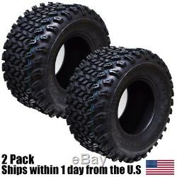 2PK 22x11.00-10 Golf Cart Go Kart ATV TIRE Wanda Journey P334 4ply Tube-Less