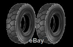 2PK 700x15 TIRES PNEUMATIC FORKLIFT TIRES TUBES FLAPS 14 PLY 7.00X15 TIRES