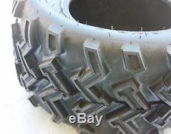 2X QIND 4PLY 22 X 11 10 inch Rear Tyre Tire 250cc Quad Dirt Bike ATV Buggy