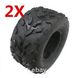 2pcs 6 PLY 16x8-7 Tyre Tubeless Off-road ATV Quad Bike GoKart Coolster Golf Cart