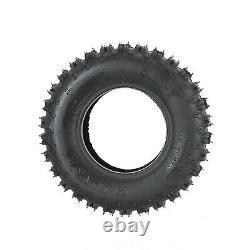 4 Pack 6 inch 4.10x6 4.10-6 Tire 4Ply Knobby Tubeless Gokart ATV Dube Buggy
