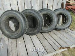 4 older CO-OP Country Squire 7.00-16 6ply rating, heavy service snow tires withtube