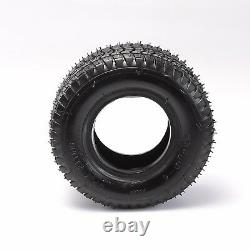 4pcs 9x3.50-4 Tire & Tube 9x3.5-4 for Garden Lawn Mower Tires Scooter 4 PLY