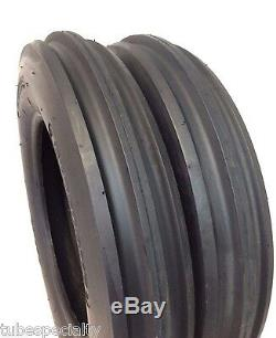 550X16,550-16,5.50X16 Minneapolis-Moline Jet 6 Ply 3 Rib Tractor Tires withTubes