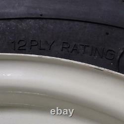 600x16 600-16 6.00-16 Thorn Resist Tractor Tire Three Rib 12Ply Rim & Tube