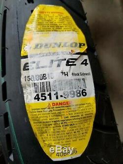 Dunlop Elite 4 Bias Ply Rear motorcycle tire Tire 150/80B-16 Harley