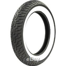 Dunlop Tire D404 Front 150/80-16 71H WWW Wide Whitewall Bias Ply TL 45605490